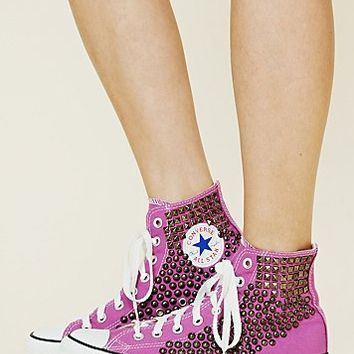 Free People Joey Studded Converse