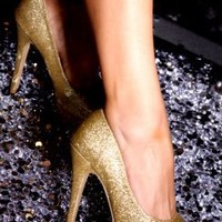 Gold Faux Leather Glitter Round Peep Toes Pump @ Amiclubwear Heel Shoes online store sales:Stiletto Heel Shoes,High Heel Pumps,Womens High Heel Shoes,Prom Shoes,Summer Shoes,Spring Shoes,Spool Heel,Womens Dress Shoes,Prom Heels,Prom Pumps,High Heel Sandal