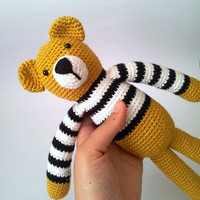 Bear Art Toy Amigurumi