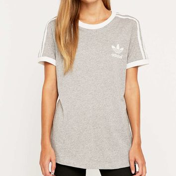 adidas retro 3 stripe t shirt