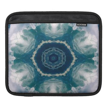 Kaleidoscope Flowers iPad Sleeves