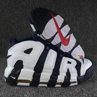 Nike Air More Uptempo Fashion and leisure sports shoes-9