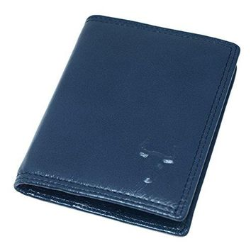 Vertical Bifold Wallet Slim Thin Mens Leather Wallets Card Id Holders Womens