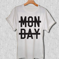 one direction shirt monday niall horan t-shirt black white and gray tee shirt unisex size clothing