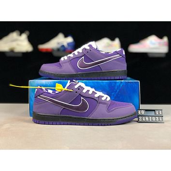 Concepts x Nike SB Dunk Low Fashion Men Casual Running Sport Shoe Sneakers Purple