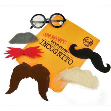 Kids Costume Secret Agent Disguise Toys Incognito Kit for Children