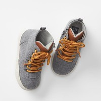 Gap Baby Flannel Hi Top Sneakers