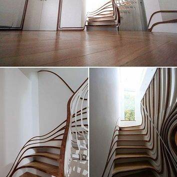 These are your stairs on acid.