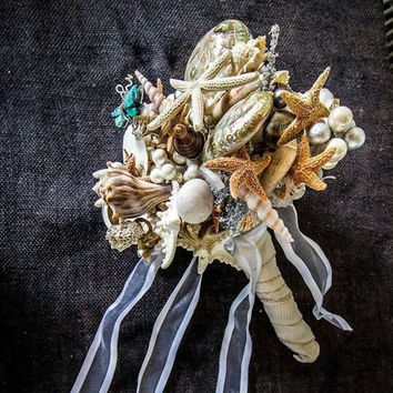 Wedding Shell Bouquet