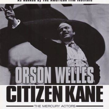 Citizen Kane 27x40 Movie Poster (1998)