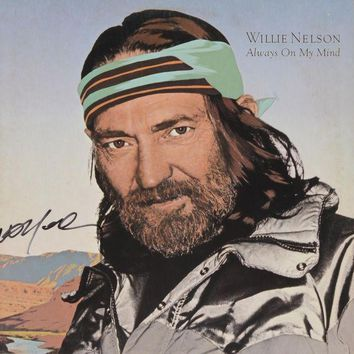LMFON Willie Nelson Signed Autographed 'Always on My Mind' Record Album (PSA/DNA COA)
