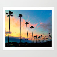 California Living Art Print by Tara Yarte