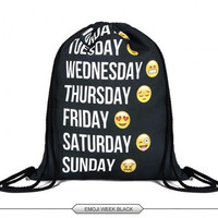 Emoji Bag Backpacks