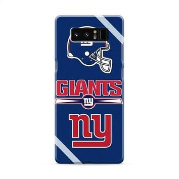 NEW YORK GIANTS NY Samsung Galaxy Note 8 Case