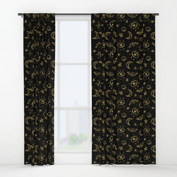 Midnight Coffee Window Curtains by MidnightCoffee