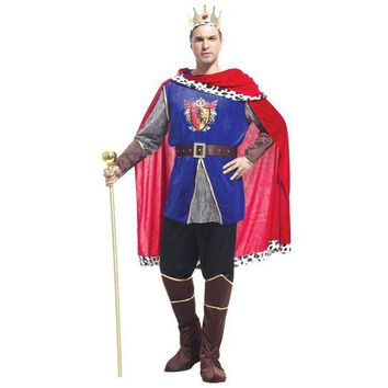 ESBON VASHEJIANG Medieval Costume King Cosplay Costumes Prince Cosplay Halloween Carnival Costume for Men Fancy Party Dress