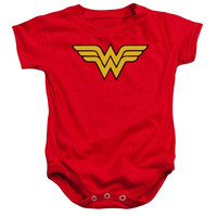 INFANT SNAPSUIT WONDER WOMAN LOGO