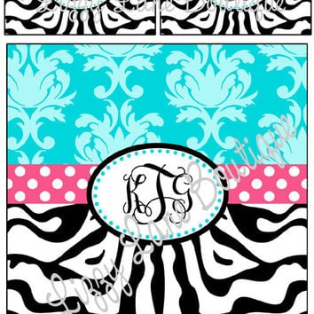 Custom Personalized Monogrammed Duvet Cover  by LizzyLaneBoutique