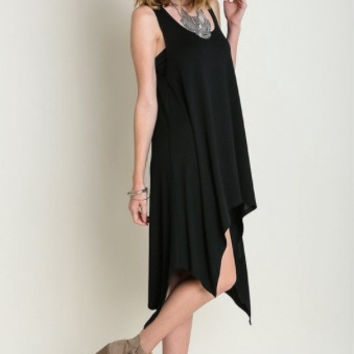 Black Tatum Tank Dress