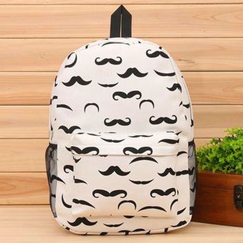 College On Sale Comfort Casual Hot Deal Back To School Stylish Korean Owl Canvas Print Bags Backpack [6582232135]