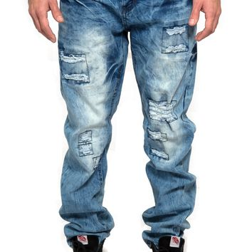 2024 Slim Fit Ripped Jeans