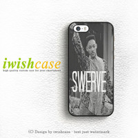 Swerve Swag Funny Phone Case Quote iPhone 5 5S 5C Case Cover