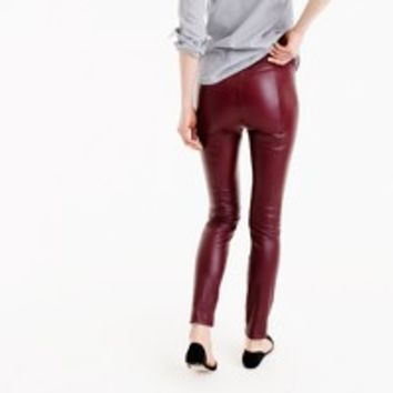 Collection leather leggings