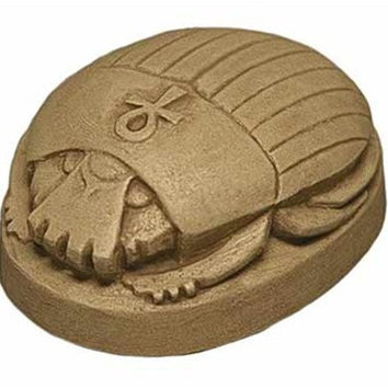 Scarab Palm Sized Small Egyptian Statue 2.5L, Assorted Colors