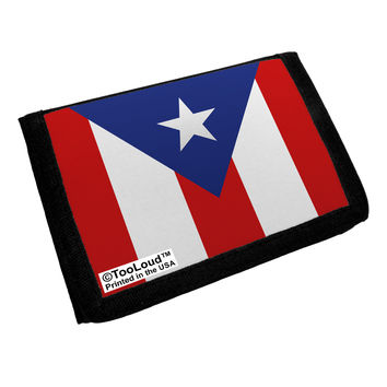 Puerto Rico Flag AOP Trifold Wallet All Over Print