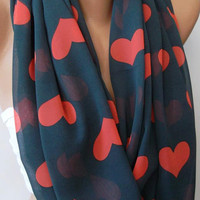 Infinity Scarf Loop Scarf Circle Scarf - It made with good quality chiffon fabric - Super Loop