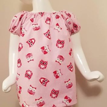 Heart Owl Dress w/ Bloomers