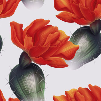 Prickly Pear Removable Wallpaper