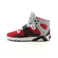 Mens adidas Roundhouse Athletic Shoe, Red Black White  Journeys Shoes