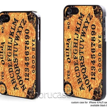 oujah board orange Custom case For iphone 4/4s,iphone 5,Samsung Galaxy S3,Samsung Galaxy S4 by minorucase on etsy