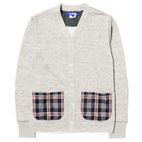 Linen Modal Pile Lined Cardigan