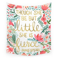 Society6 Little & Fierce Wall Tapestry