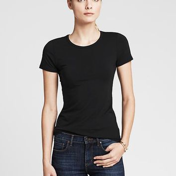 Banana Republic Womens New Essential Crew