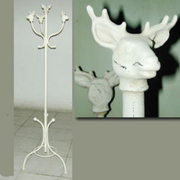 Deer with Antlers Coat / Hat Rack