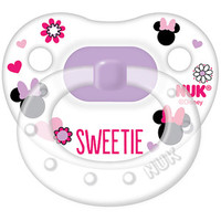 Walmart: NUK Disney Minnie Mouse Silicone Orthodontic Pacifier, Set of 2, 6-18 Months