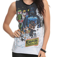 Star Wars The Empire Strikes Back Girls Muscle Top 2XL