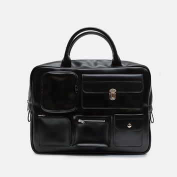 Synthetic Leather Briefcase by Comme des Garçons Comme des Garçons- La Garçonne