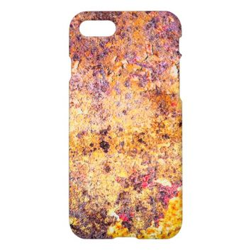 Rusted Metal Pattern. iPhone 7 Case