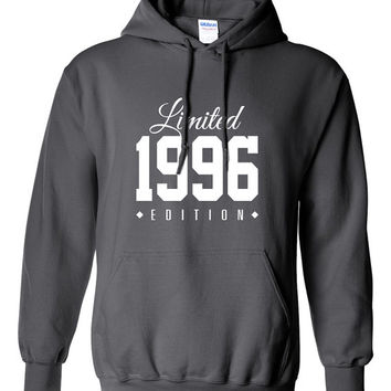 1996 Limited Edition 2015 B-day Hoodie 19th Birthday Gift Cool swag mens womens ladies hoodie hooded sweatshirt sweater Unisex TH-190