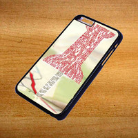 Paper Towns Collage For iPhone 6 Plus Case *76*