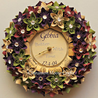 Wine Wreath / Wine Clock / Clock Wreath / Wall Clock / Wine Decor / Wine Cork Decor / Wine Cork Clock / Cork Wreath / Wine Cork Wreath