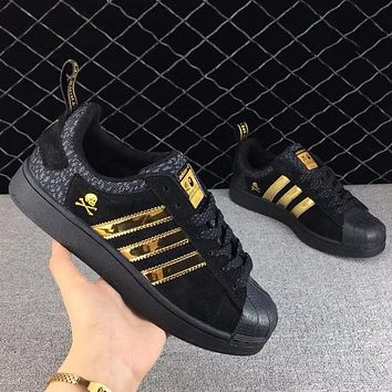 Adidas x Bape x NBHB Woman Men Fashion Old Skool Sneakers Sport Shoes