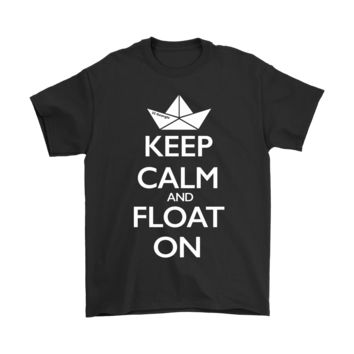 KUYOU Keep Calm And Float On Shirts IT Stephen King shirts
