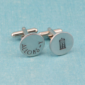 Allons-y Cuff Links