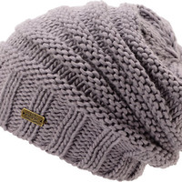 Spacecraft Girls Anise Grey Contrast Knit Beanie at Zumiez : PDP