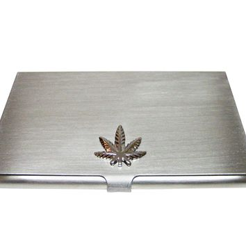 Weed Business Card Holder